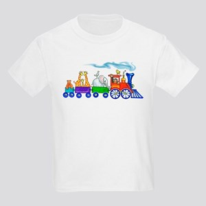 Choo choo train Kids Light T-Shirt