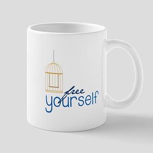 Free Your Self Mugs