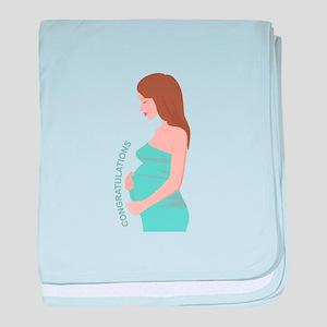 Congratulations baby blanket