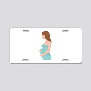 Baby Bump Aluminum License Plate