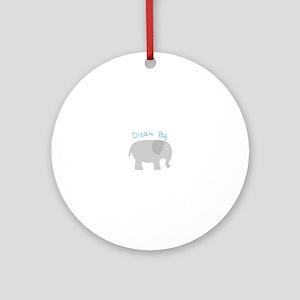 Dream Big Ornament (Round)