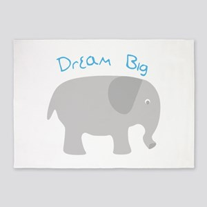 Dream Big 5'x7'Area Rug