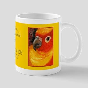 Sunny Conure Parrot Mug