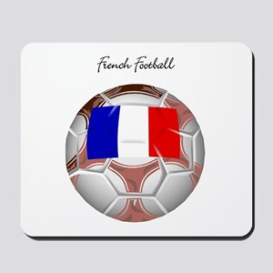 French Football Soccer Mousepad