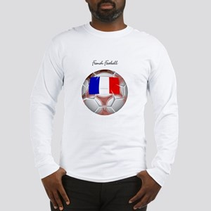 French Football Soccer Long Sleeve T-Shirt