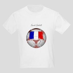 French Football Soccer Kids Light T-Shirt