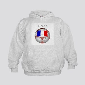 French Football Soccer Kids Hoodie