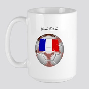 French Football Soccer Large Mug