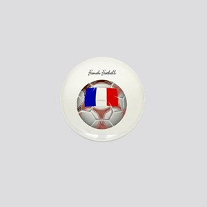 French Football Soccer Mini Button
