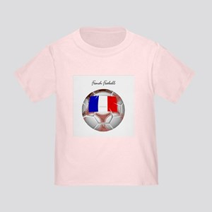 French Football Soccer Toddler T-Shirt