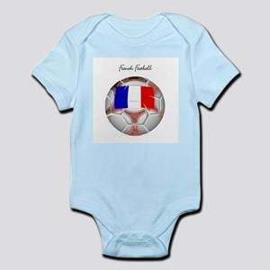 French Football Soccer Infant Bodysuit