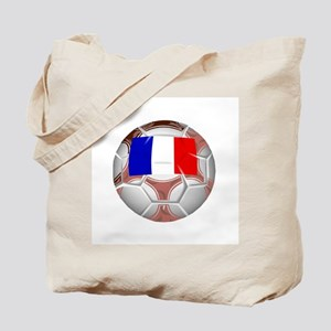 French Football Soccer Tote Bag