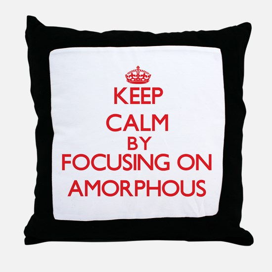 Amorphous Throw Pillow