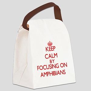 Amphibians Canvas Lunch Bag