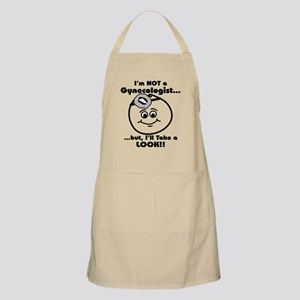 I'm not a gyno, But I can loo BBQ Apron