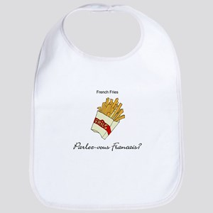 French Fries French Language Bib
