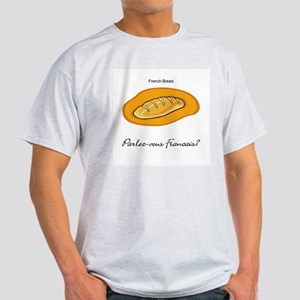 French Bread French Language Light T-Shirt