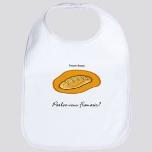 French Bread French Language Bib
