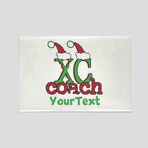 Customize XC Coach Rectangle Magnet