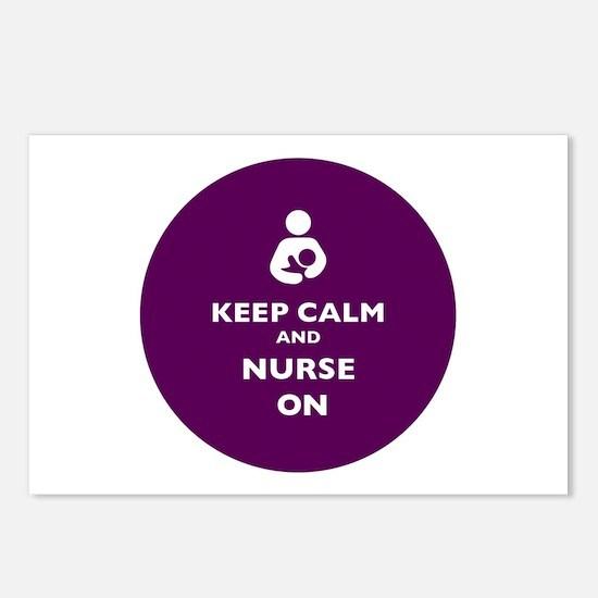 Cute Nurse kid Postcards (Package of 8)