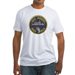 USS ADROIT Fitted T-Shirt