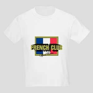 French Club Official Member Kids Light T-Shirt