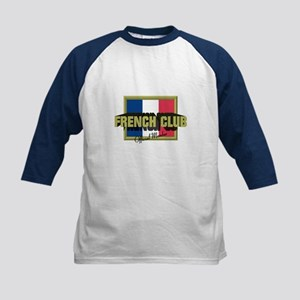 French Club Official Member Kids Baseball Jersey