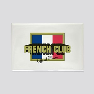 French Club Official Member Rectangle Magnet