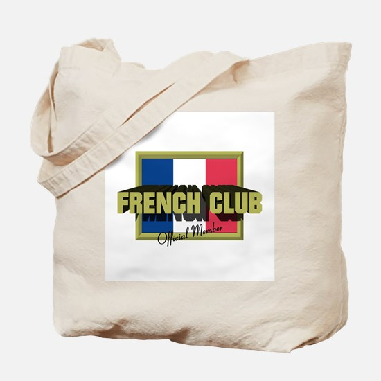 French Club Official Member Tote Bag
