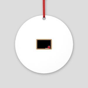 Chalkboard Ornament (Round)