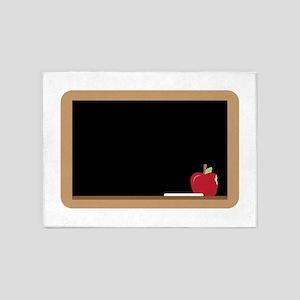 Chalkboard 5'x7'Area Rug