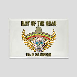 Day Of The Dead-Dia De Los Muertos-Mexican Magnets