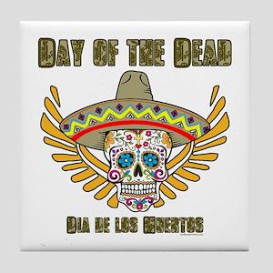 Day Of The Dead-Dia De Los Tile Coaster