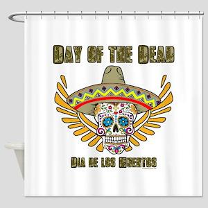 Day Of The Dead-Dia De Los Shower Curtain