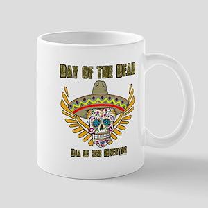 Day Of The Dead-Dia De Los Muertos-Mexican Mugs