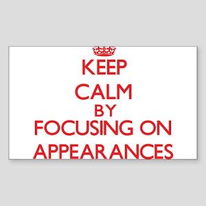 Appearances Sticker