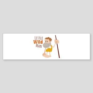 Wild Man Bumper Sticker