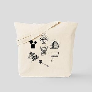 Master Mason Emblems No. 1 Tote Bag