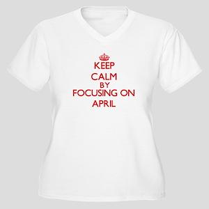 April Plus Size T-Shirt