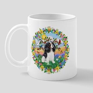 Wreath - Cavalier (Tri) Mug