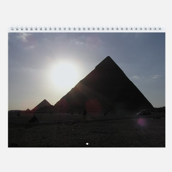 World Traveller - Wall Calendar