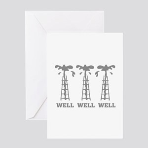 Well Well Well Greeting Card