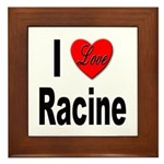 I Love Racine Framed Tile