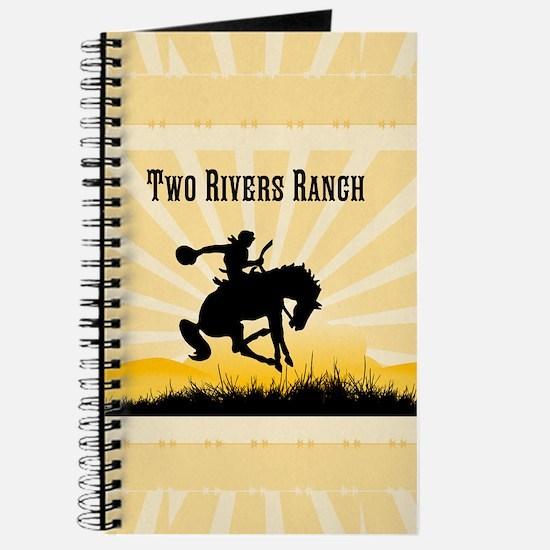 Custom Bronc Rider Journal