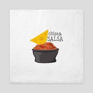Chips & Salsa Queen Duvet