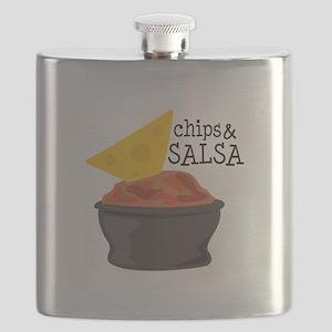 Chips & Salsa Flask
