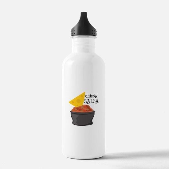 Chips & Salsa Water Bottle