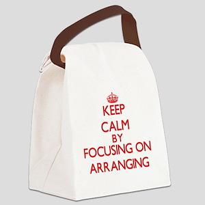 Arranging Canvas Lunch Bag