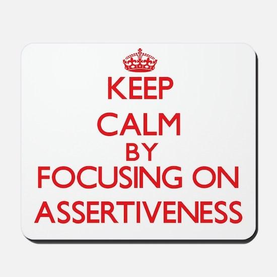 Assertiveness Mousepad