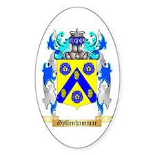 Gyllenhammar Sticker (Oval)